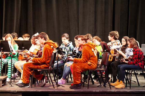 Orchestra and Guitar 2019 Winter Concert