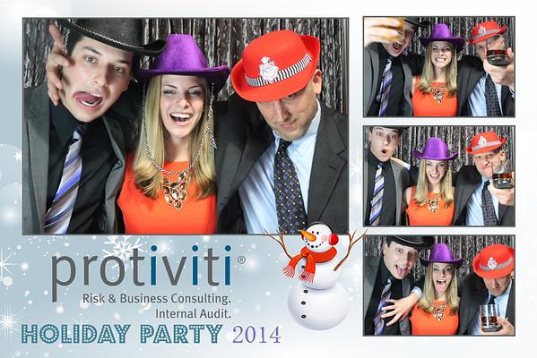 Protiviti Holiday Party Photo Booth Prints