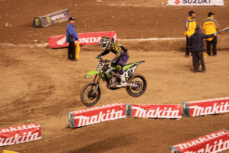 Anaheim Supercross Jan 8, 2011