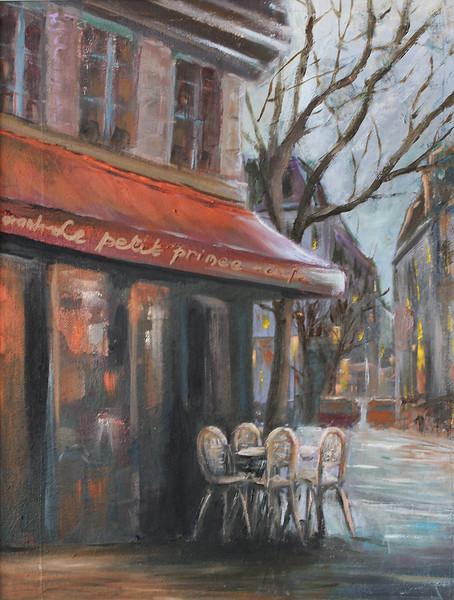 Quartier Latin - Cafe 'Le Petit Prince'
