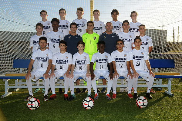 2017-2018 Boys Soccer