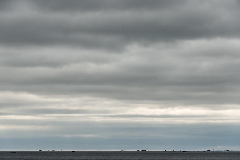 Clouds - Ploubazlanec-Île-de-Bréhat ferry, France - August 16, 2018