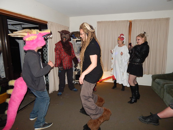 2016-10-29 Dread Fort Halloween