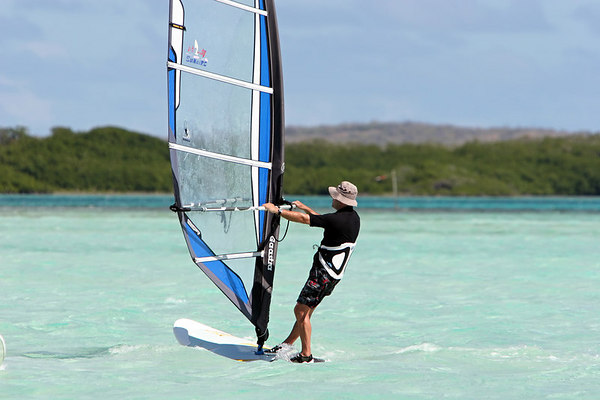 David Windsurfing