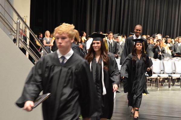 2015 Mansfield High School Graduation