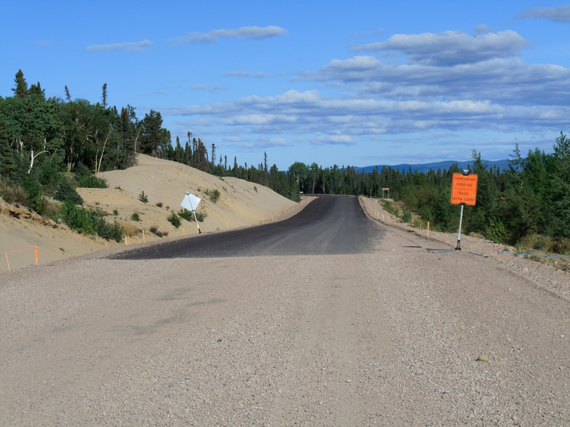 Pavement at Goose Bay