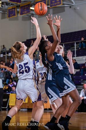 Broughton girls varsity basketball vs Millbrook. February 15, 2019. 750_7351