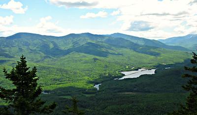 Shelburne, NH Loop - Gentian Pond/Dryad Falls/Dream Lake/Bald Cap Peak Ledges/Big Falls (June 7)