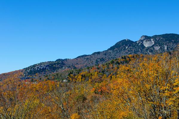 Grandfather mountain Blue Ridge Parkway