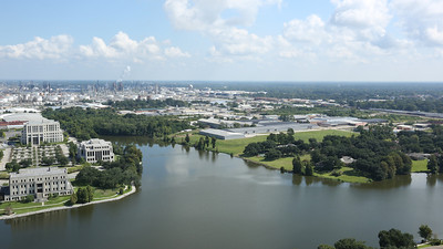 View from top of State Capital - Baton Rouge