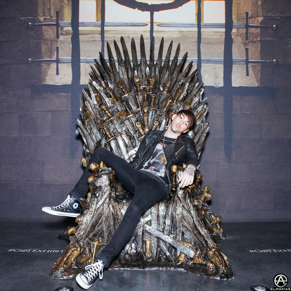 Alex Gaskarth at the Game Of Thrones