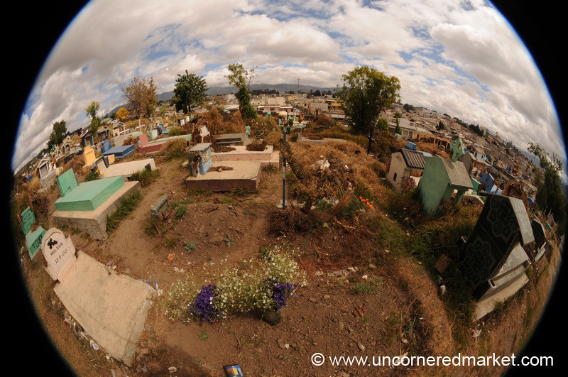 Public Cemetery, Fisheye - Xela, Guatemala