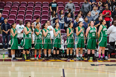 2015 Basketball Eagle Rock Girls vs Garfield 07Mar2015