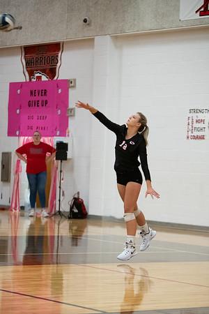 Ingram Varsity Volleyball vs. Comfort