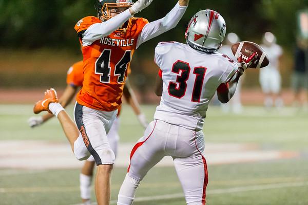 Roseville High School Varsity Football vs Antelope  9-27-19