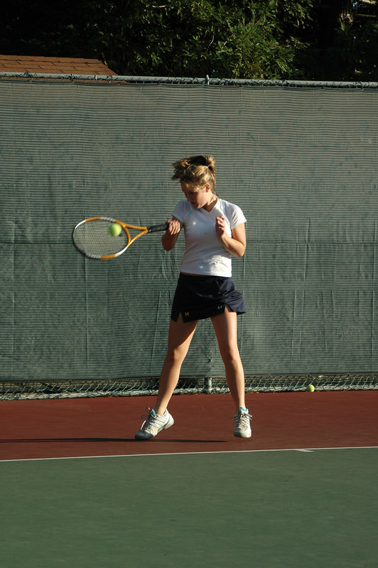 Menlo Girls Tennis 2005 - Player 4