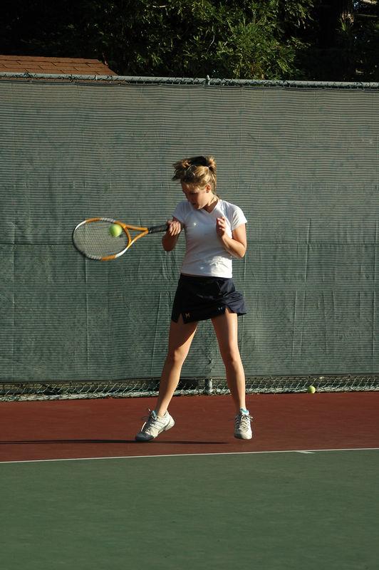 Menlo Girls Tennis 2005 - Player 4