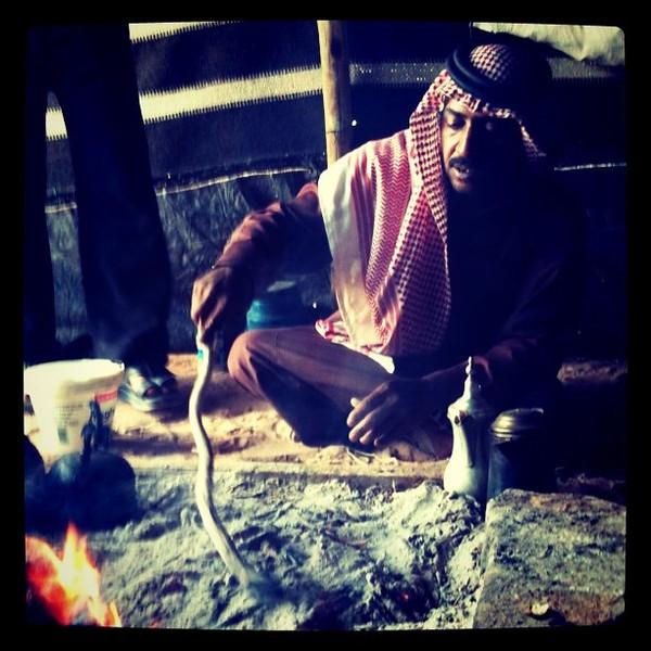 Bedouin bread -- Wadi Rum, Jordan