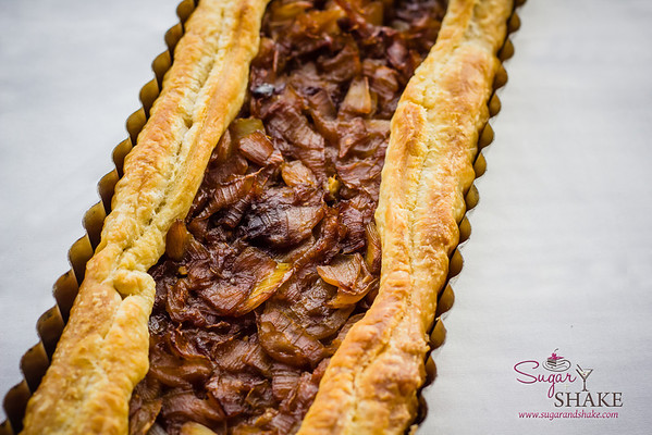Playing with Maui Product—Part 2: Caramelized Pickled Maui Onion Tart