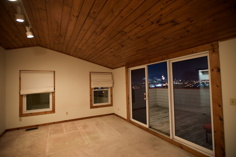 MASTER BEDROOM WITH ROOFTOP DECK ACCESS