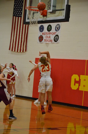 CMS Girls Basketball vs Robinson 10/6/14