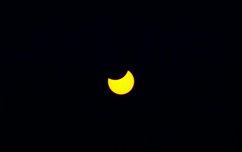 Partial Solar Eclipse 1972