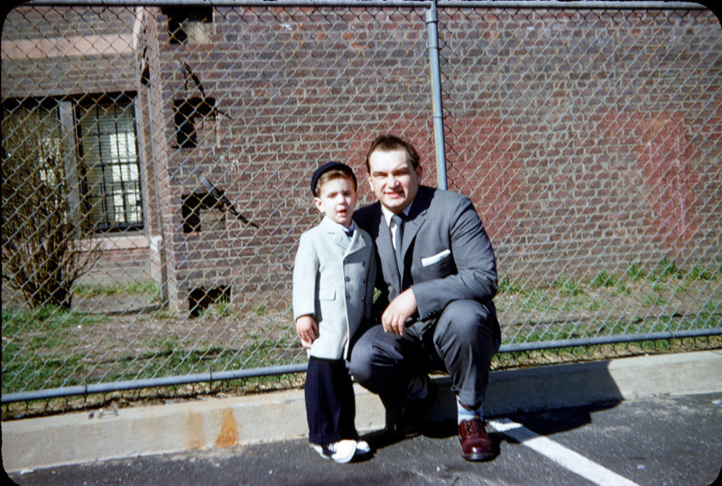 richard and daddy in parking lot easter 1959.jpg