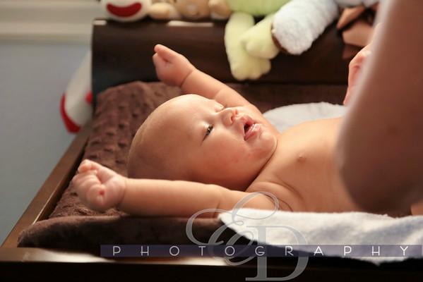 Eli Three Months Old