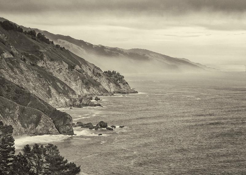 Winter Big Sur