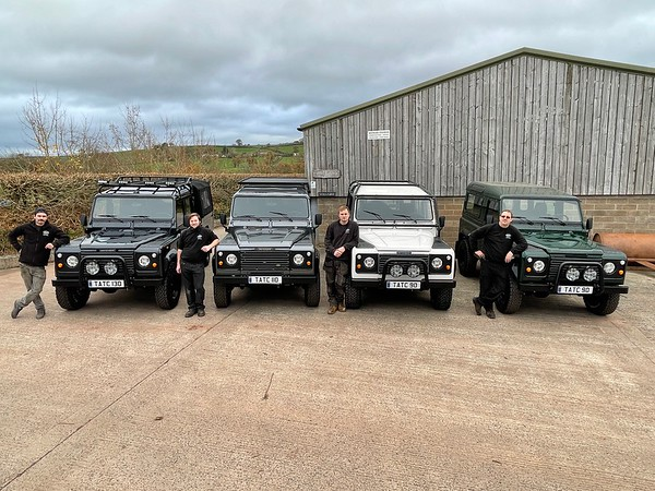 Group Defender Pictures 130, 110 and 90's