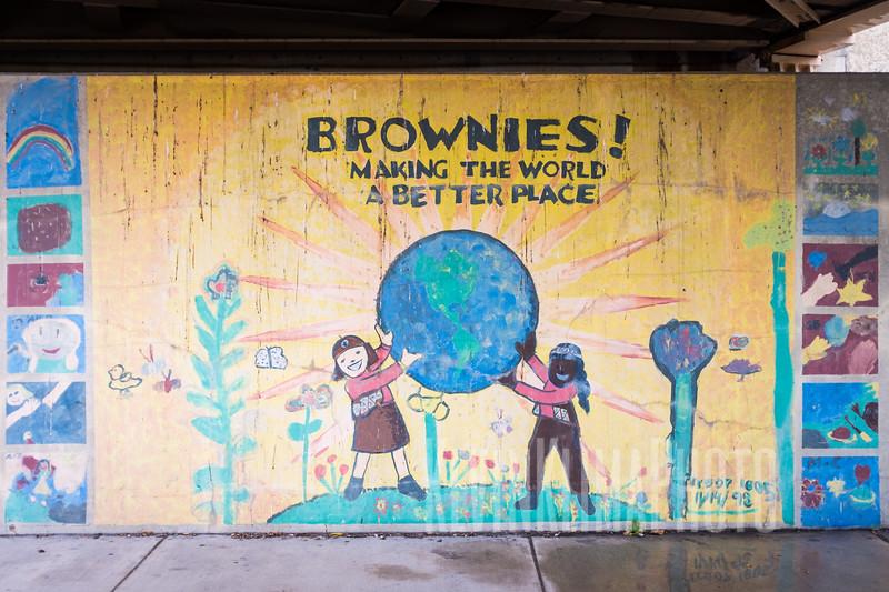 Brownies! Mural