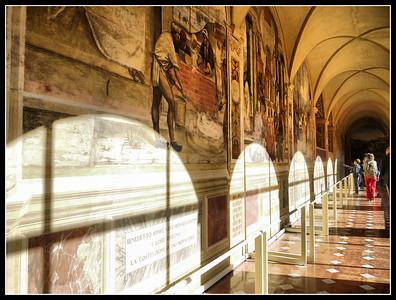 Abbazia Monte Oliveto Maggiore  (Siena)