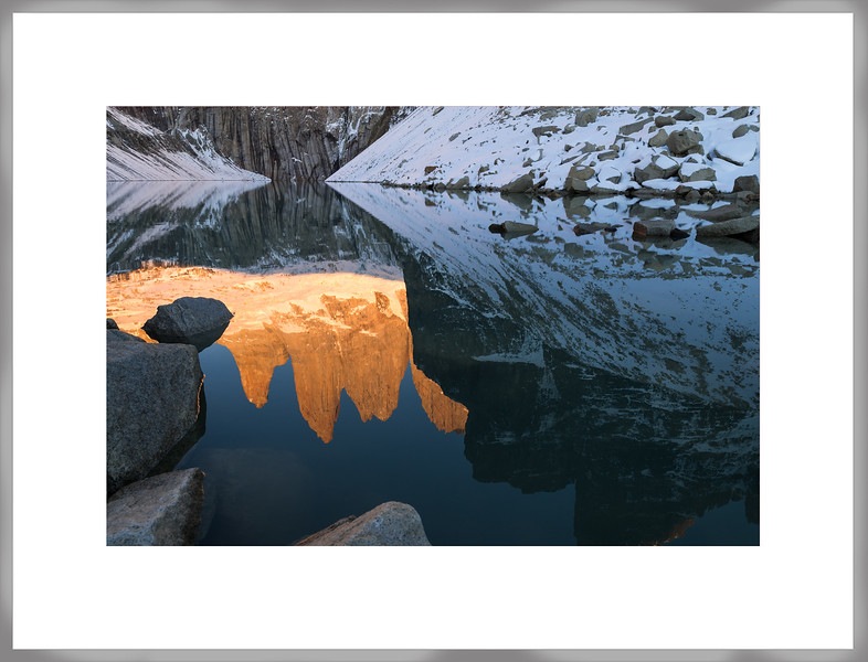 Reflejo de Torres del Paine