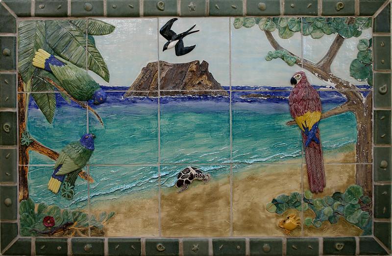 Tropical tile