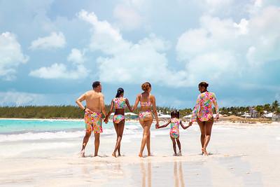 The Smith's Vacation Photo Shoot. Exuma, Bahamas