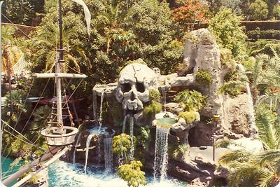 Disneyland's Skull Rock 1982
