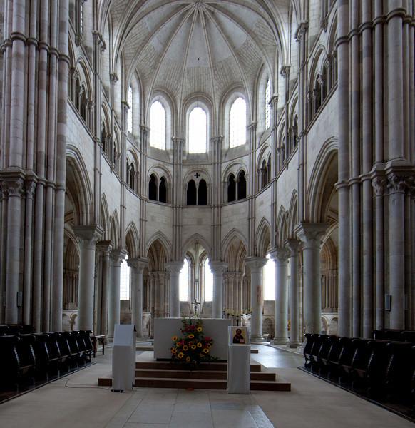 Vezelay Sainte-Madeleine Abbey,The Gothic Choir
