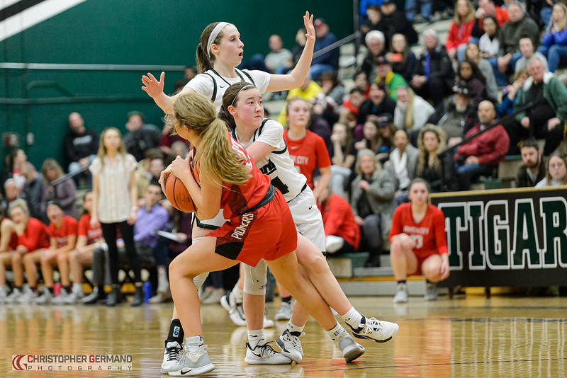 THS Girls Varsity Basketball vs Oregon City