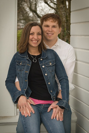 2006 Dan and tina engagement