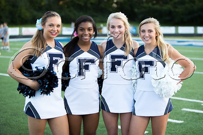 FHS V vs. Oak Ridge (9-8-17) CHEERLEADERS and STUDENTS