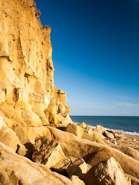 Hive beach cliffs on the Jurassic Coast