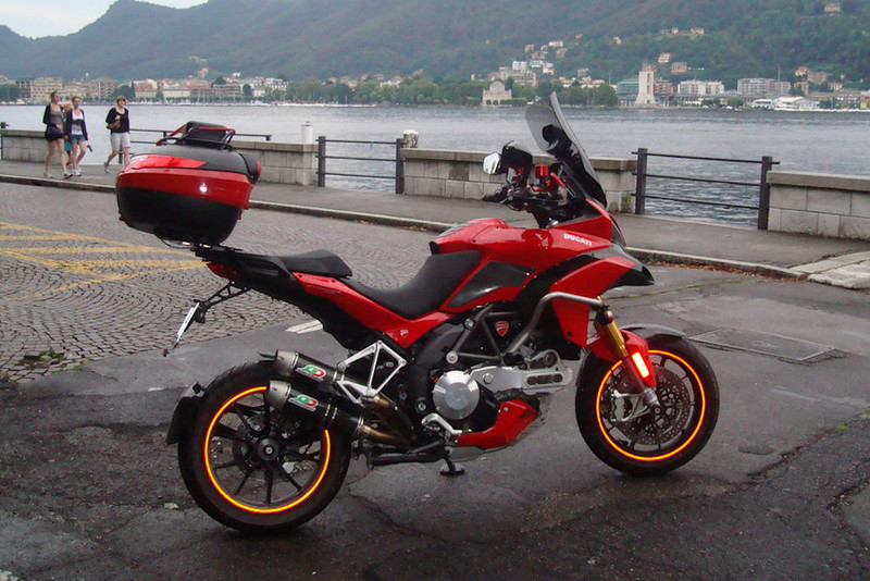 1/3 - Greek Multistrada 1200 Owner 'Teris' likes his 'bling' and accessories! :D