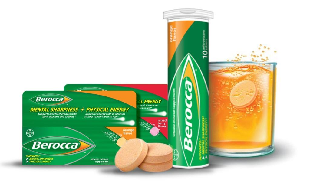 Berocca (photo credit: Bayer Australia)