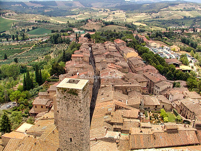 Tuscan Hill Towns