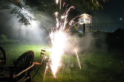 Graduation Fireworks 2008