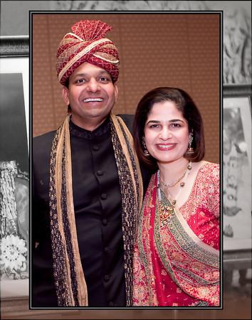Gupta Family Flash Mount Album