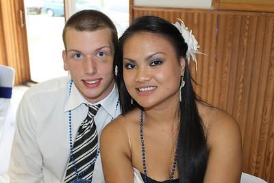 Eushina's & Robert's Graduation Party, Mohn Building, Tamaqua (6-26-2011)