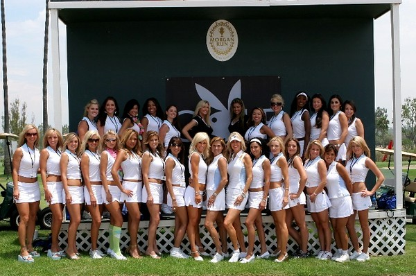 The Lovely PLAYBOY GIRLS OF GOLF