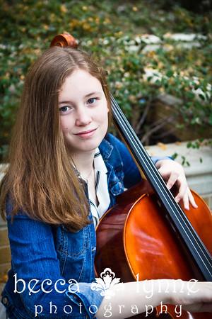 amelia & her cello