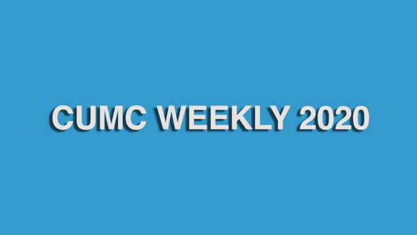 CASCADE UNITED METHODIST CHURCH WEEKLY 2020